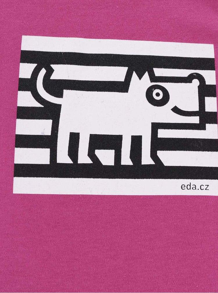 """""""Dobré"""" růžové body s potiskem psa pro EDU"""