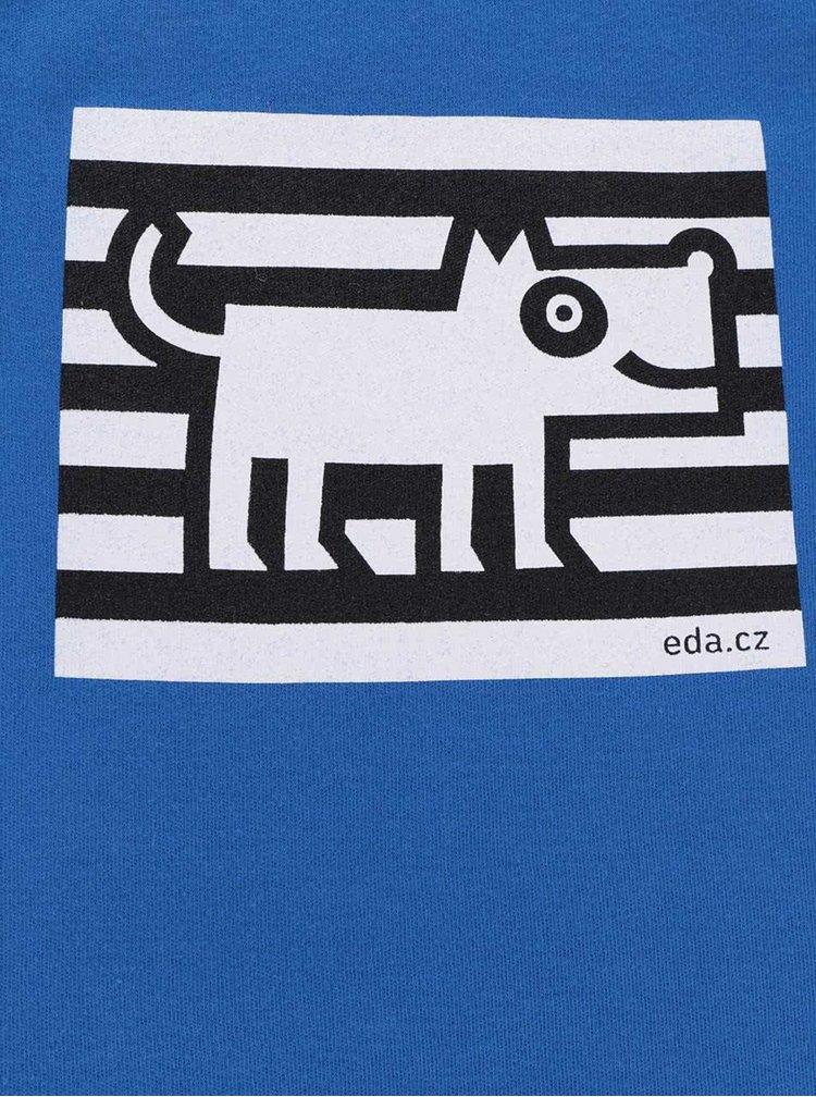 """""""Dobré"""" modré body s potiskem psa pro EDU"""