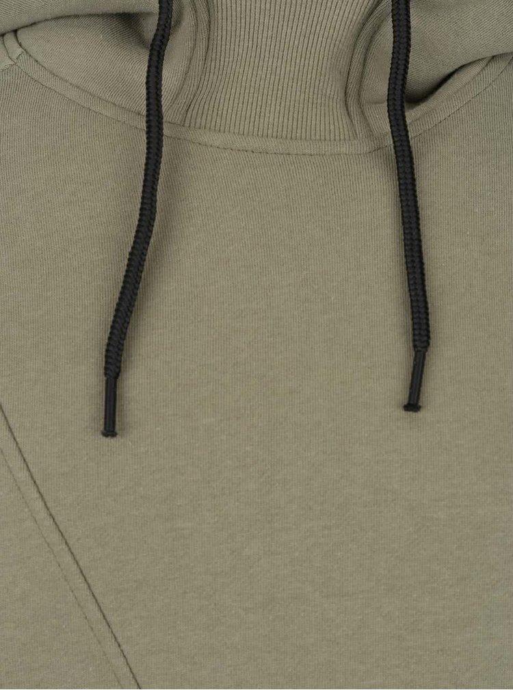 Hanorac kaki cu cusaturi asimetrice - Jack & Jones Pinn