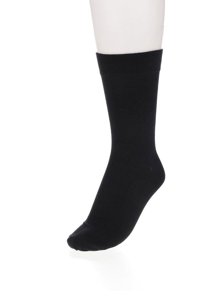 Sada čtyř ponožek v černé barvě Jack & Jones Jens