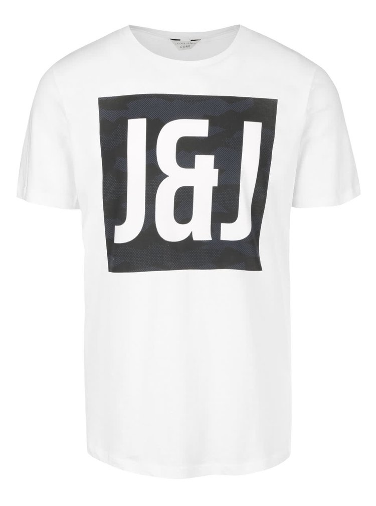 Krémové triko s potiskem Jack & Jones Came