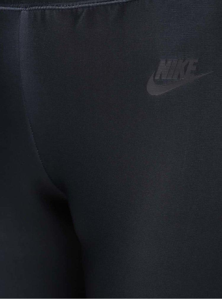 Černo-růžové dámské ombré legíny Nike Sportswear