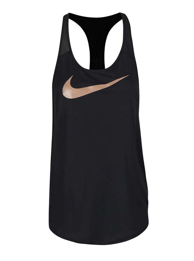 Černé dámské tílko Nike Training Tank