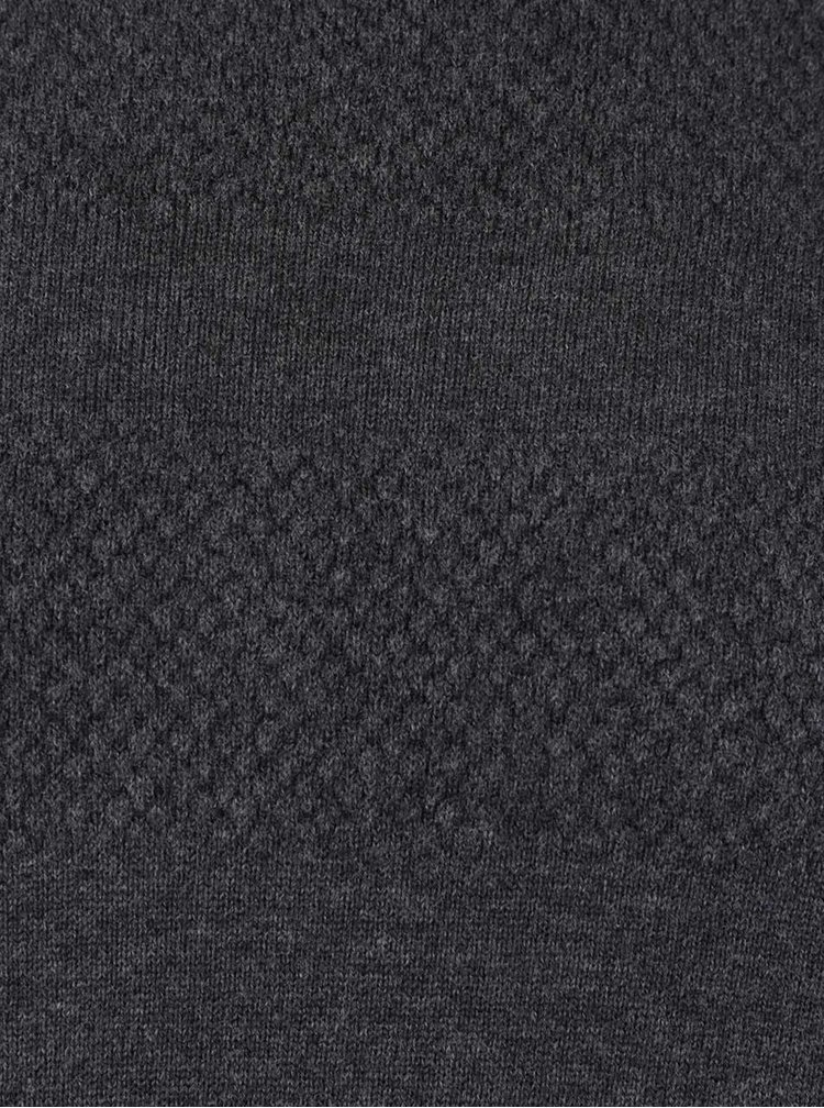 Tmavě šedý rolák Blend