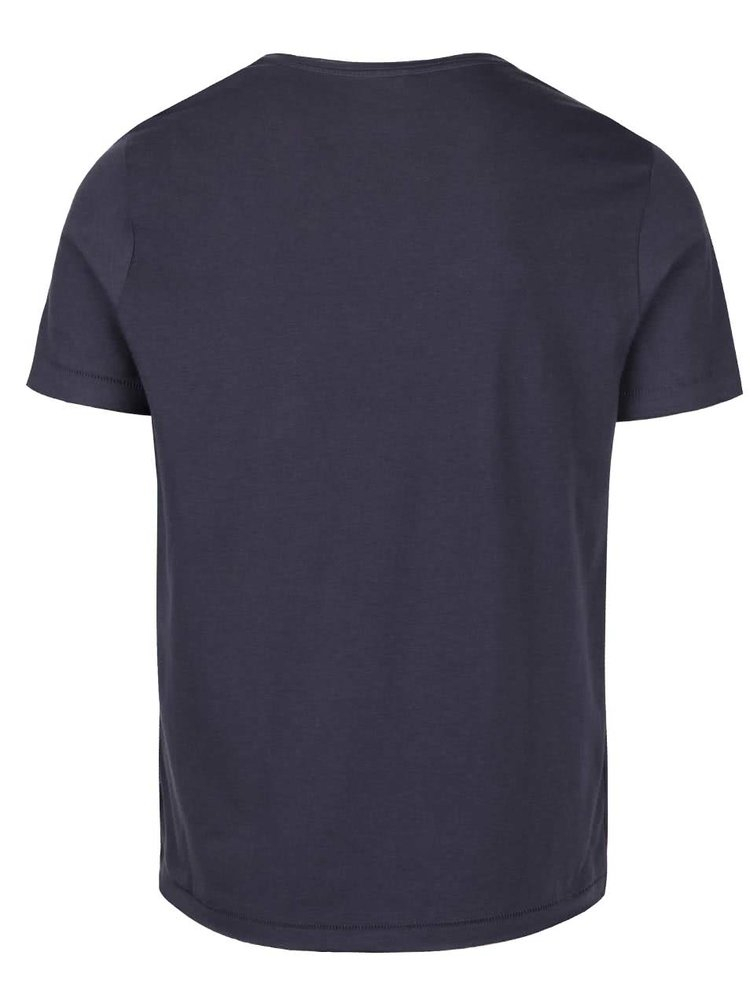 Tmavě modré triko s potiskem Blend