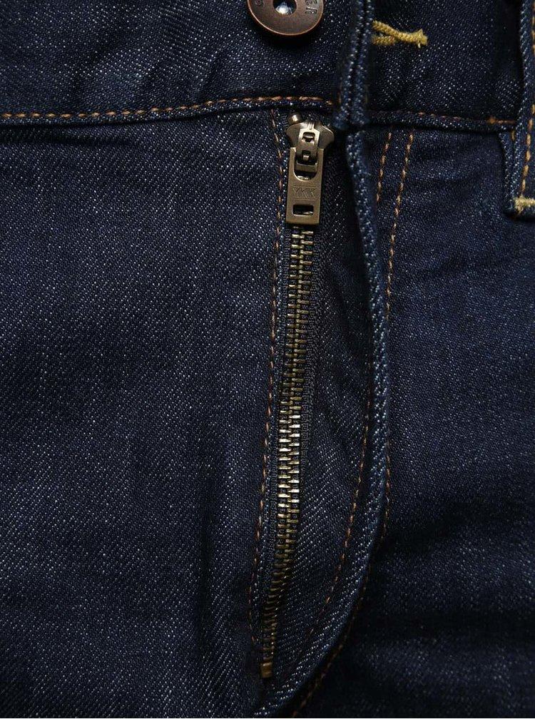 Tmavě modré pánské slim fit džíny Quiksilver Distorsirinsee