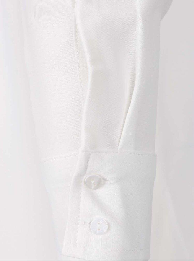 Bílá halenka s potiskem květů Desigual Yes