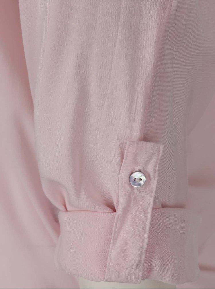 Bluză roz deschis Haily´s Florie cu nasturi