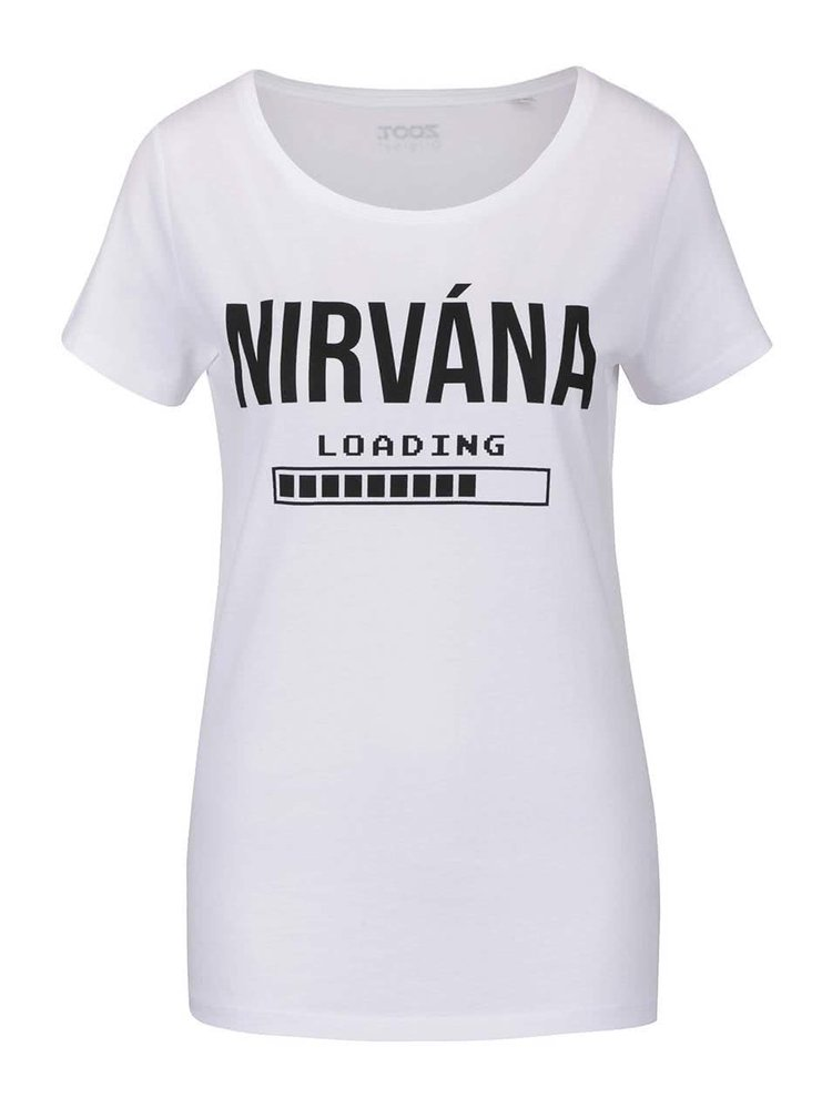 Bílé dámské tričko ZOOT Originál Nirvána