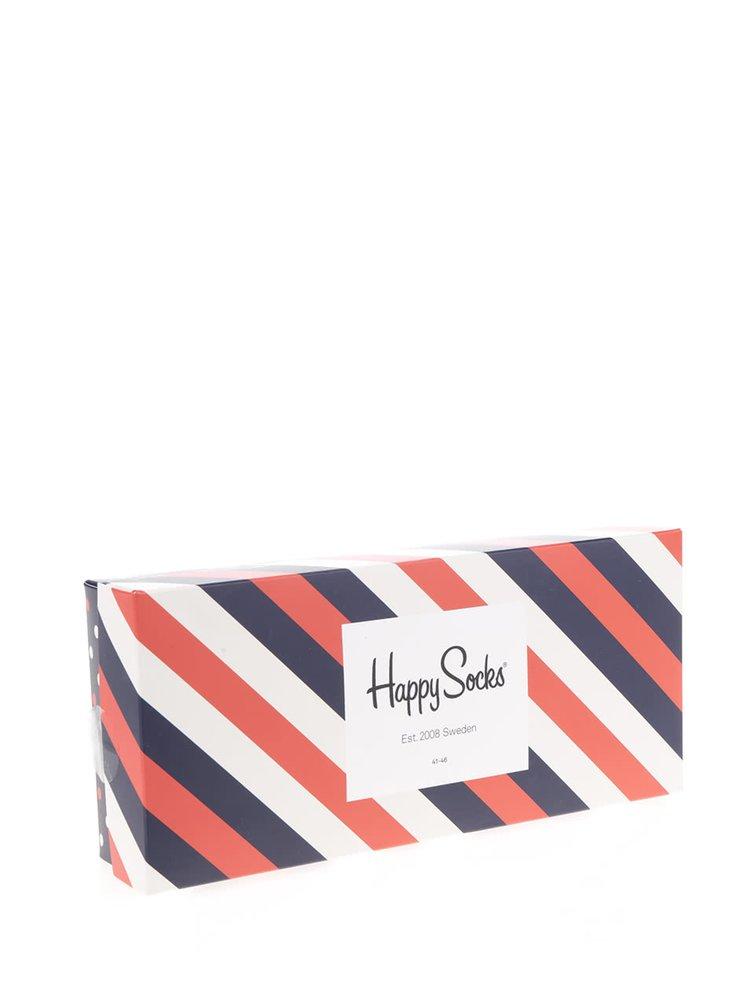 Set 4 perechi șosete Happy Socks în cutie de cadou