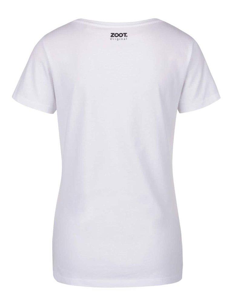 Bílé dámské tričko ZOOT Originál Balóny