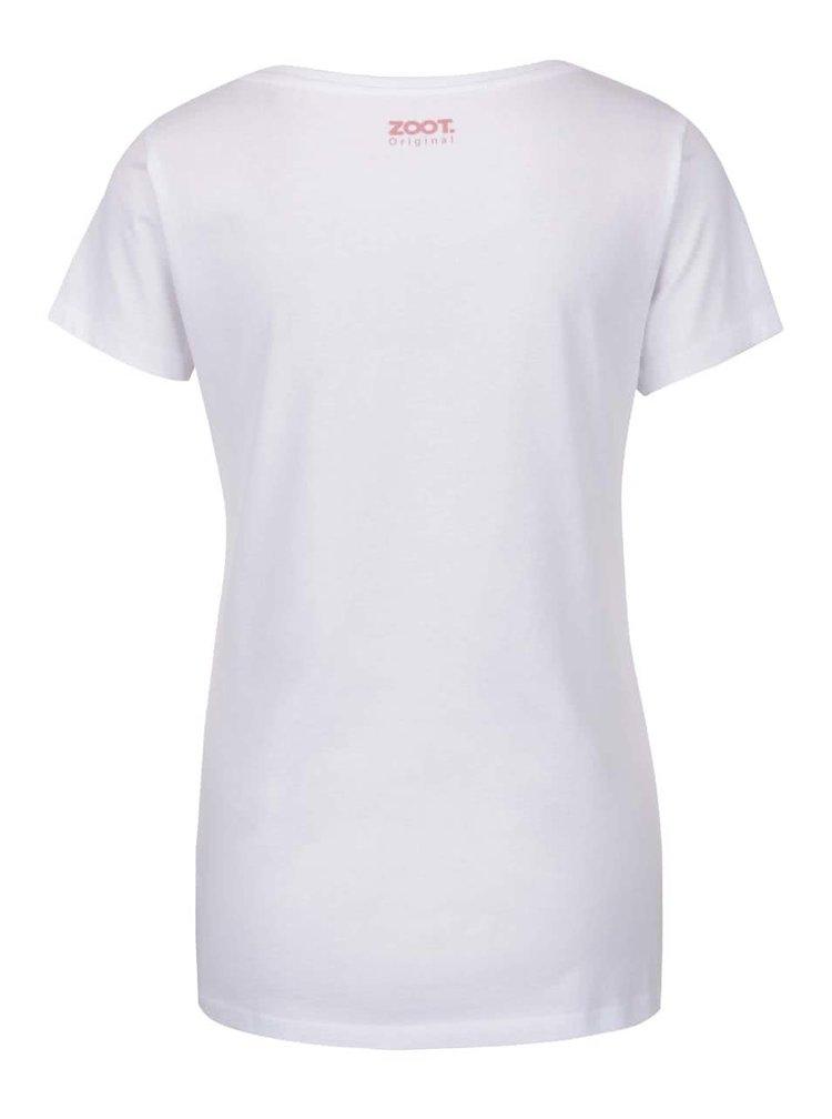 Bílé dámské tričko ZOOT Originál Blázen
