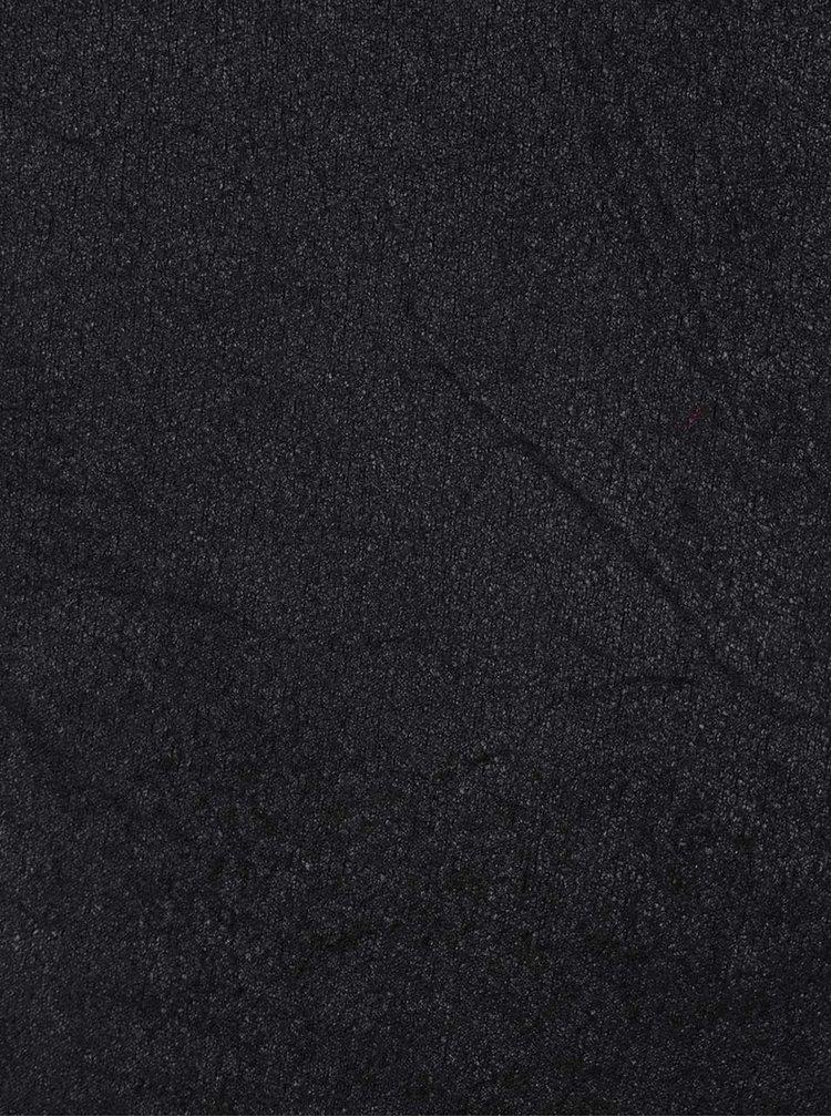 Černé dámské legíny v semišové úpravě Broadway Cara