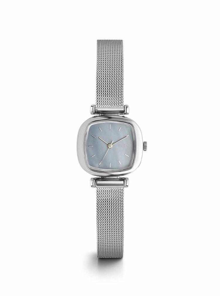Dámské hodinky ve stříbrné barvě s nerezovým páskem Komono Moneypenny Royale