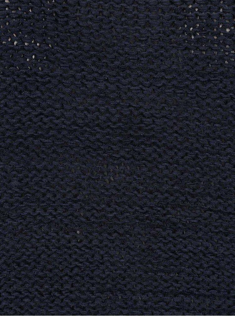 Tmavě modrý svetr VILA Tapa