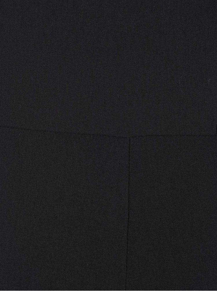 Černý overal s průstřihy Miss Selfridge