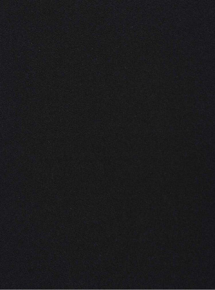 Bílo-černé tričko s dlouhým rukávem VILA Bava
