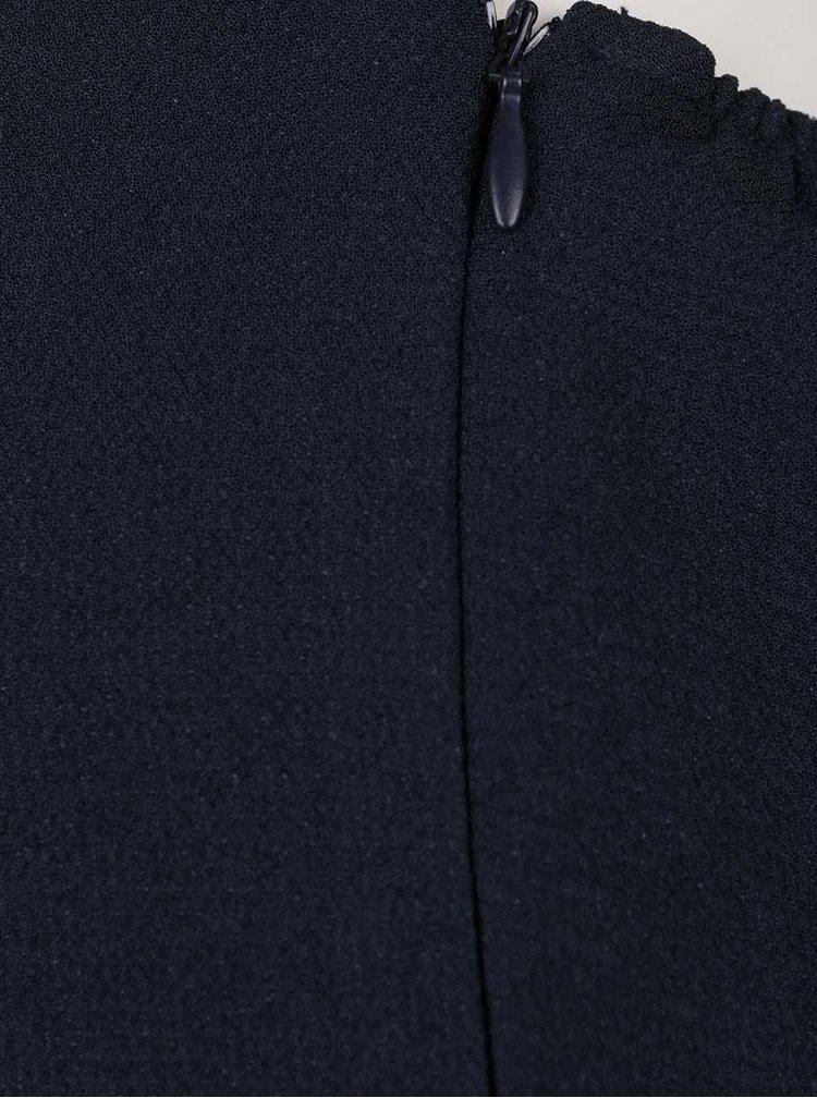 Tmavě modrý overal s průstřihem na zádech VILA Jupitor
