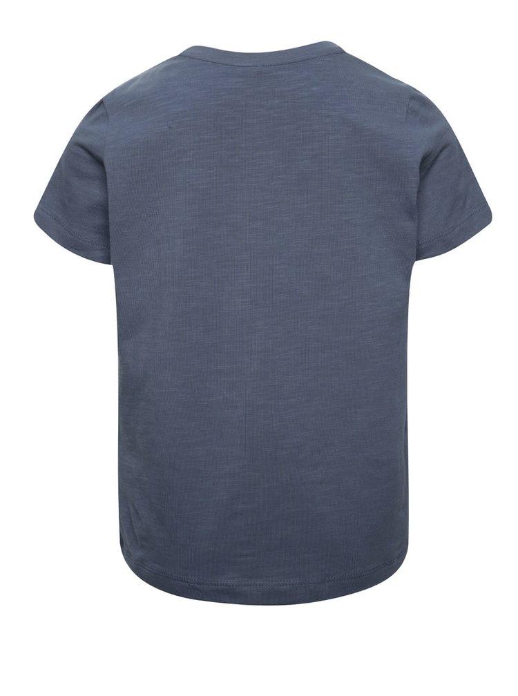 Modré klučičí triko s potiskem name it Kutta