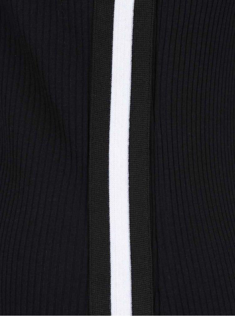 Rochie neagră ONLY Ilva cu bretele subțiri