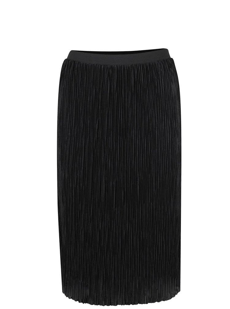Černá plisovaná sukně ONLY Sashu
