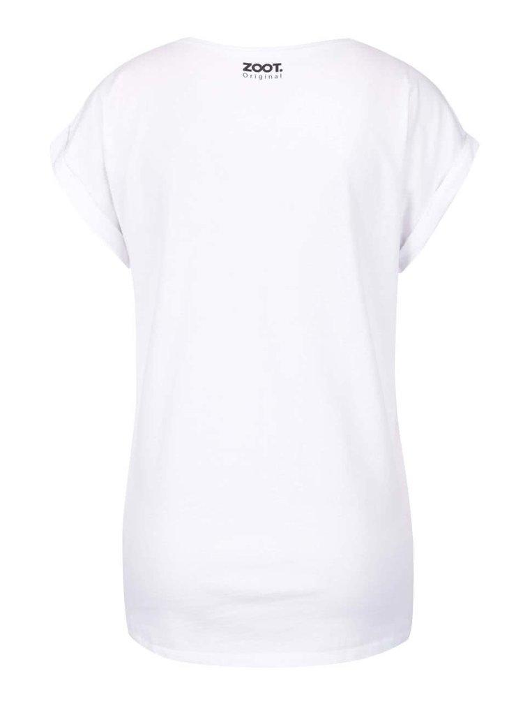 Bílé dámské tričko ZOOT Originál Party Kit