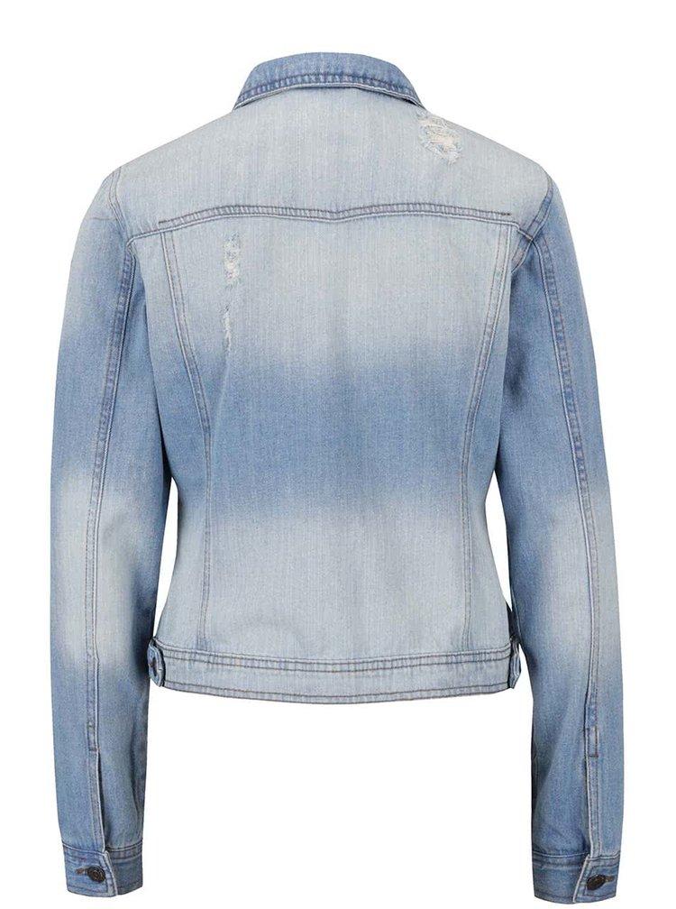 Jacheta albastra VERO MODA Danger din denim