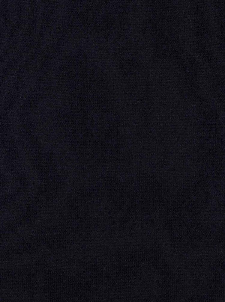 Tmavě modré svetrové šaty s rolákem s.Oliver