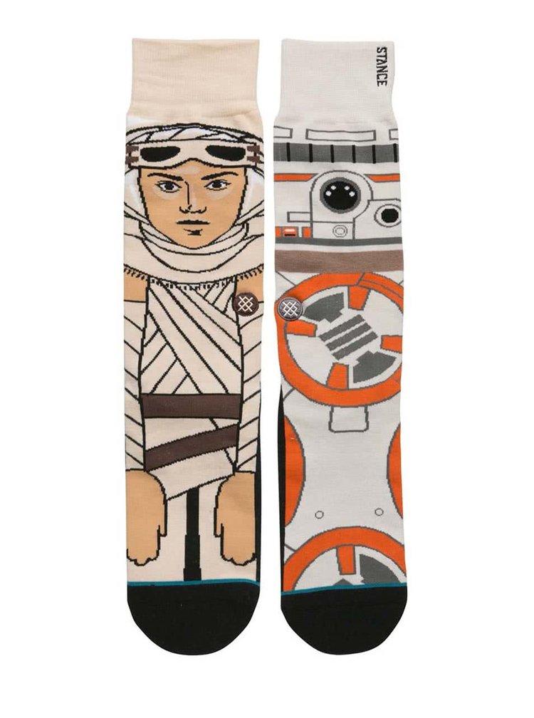 Șosete portocaliu cu crem Star Wars Stance Resistance