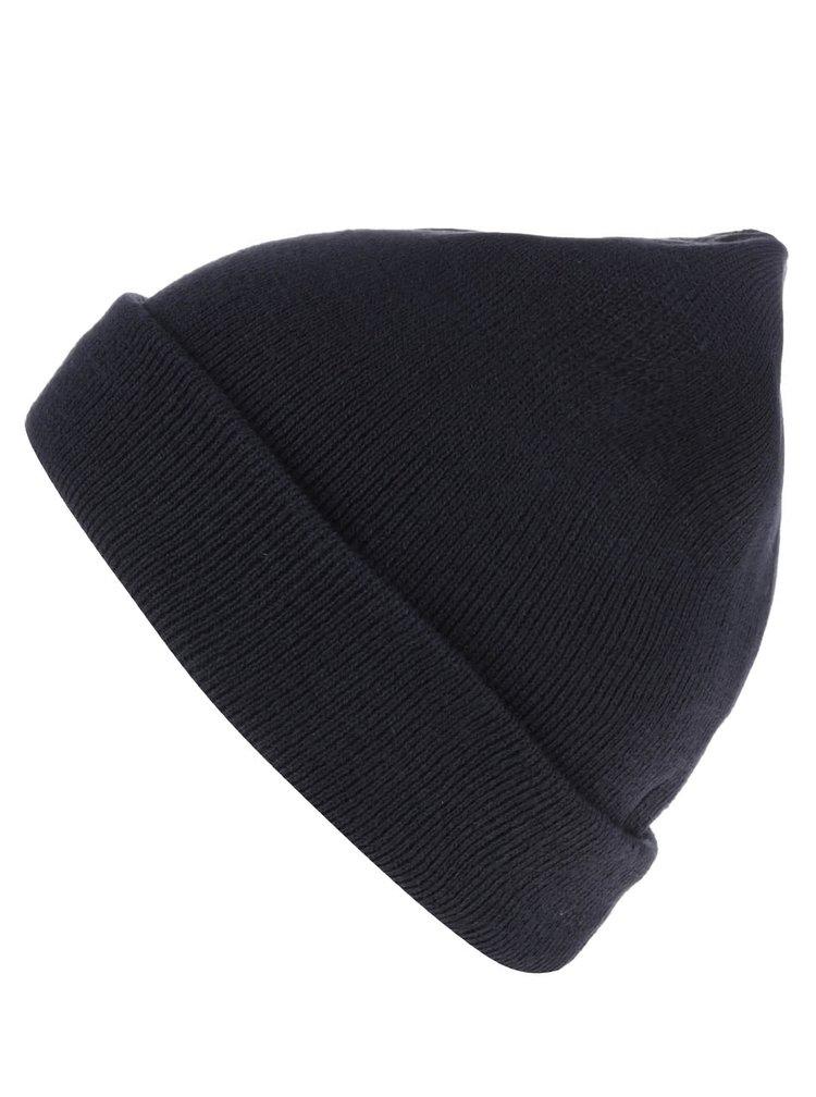 Tmavě modrá pánská čepice s.Oliver