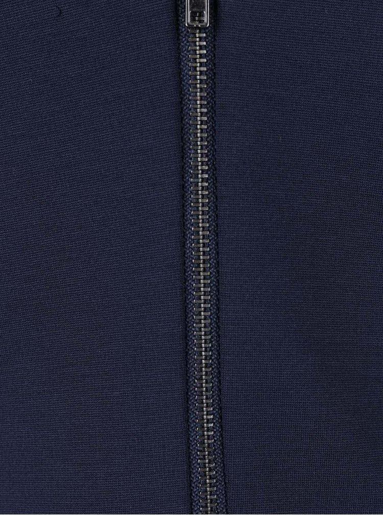Tmavě modré šaty s dlouhým rukávem straně VERO MODA Mary
