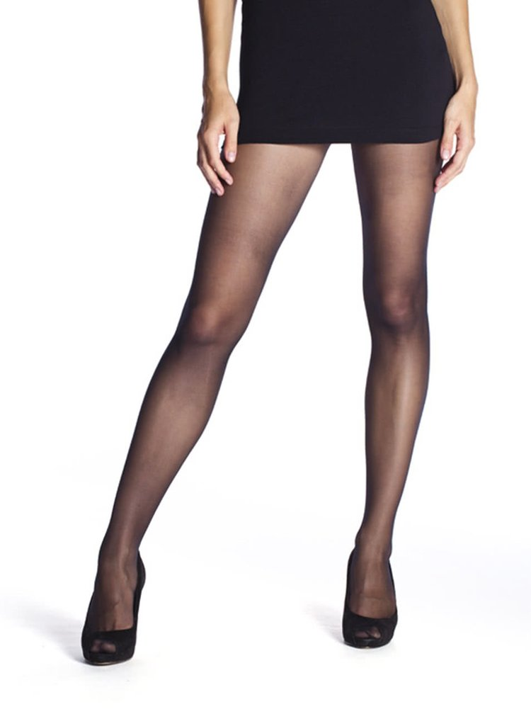 Černé extra odolné punčochové kalhoty Bellinda Resist Pantyhose 15 DEN