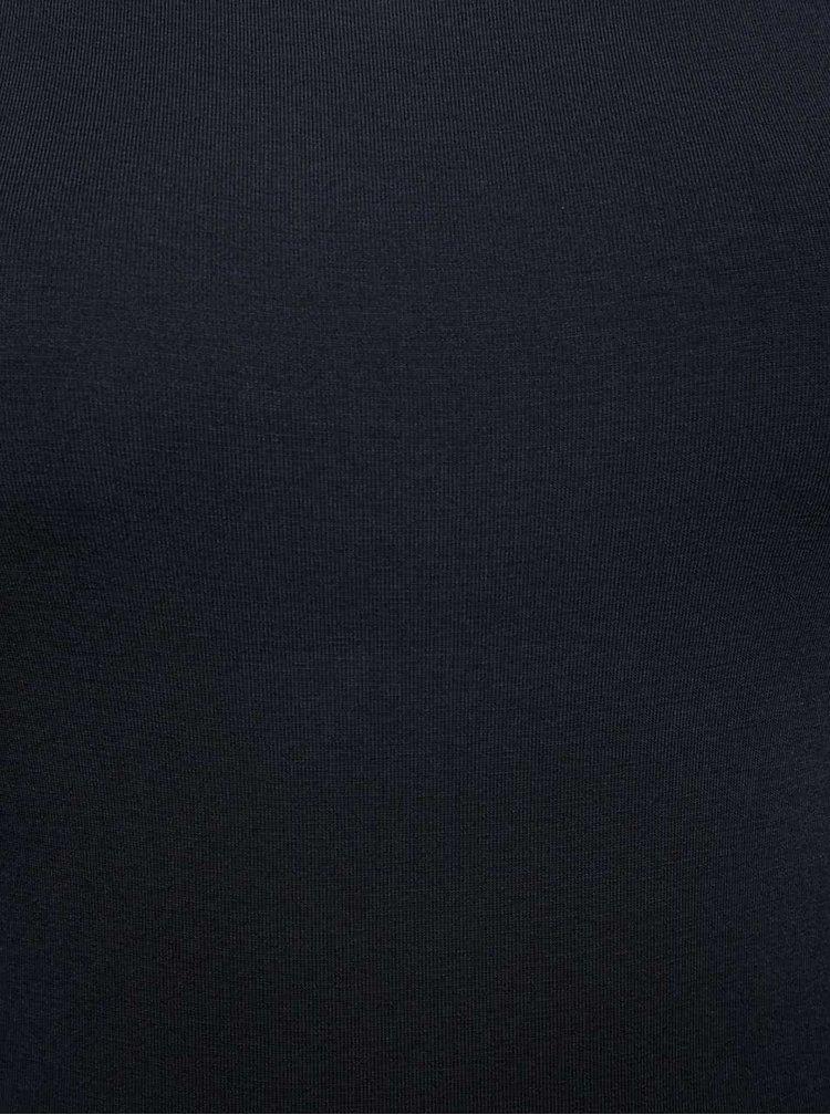 Body albastru închis ZOOT cu mâneci lungi
