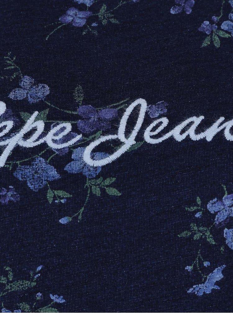 Mordé dámské tričko s krátkým rukávem Pepe Jeans Debbie