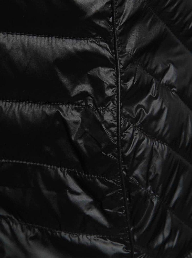 Černá prošívaná vesta Dorothy Perkins