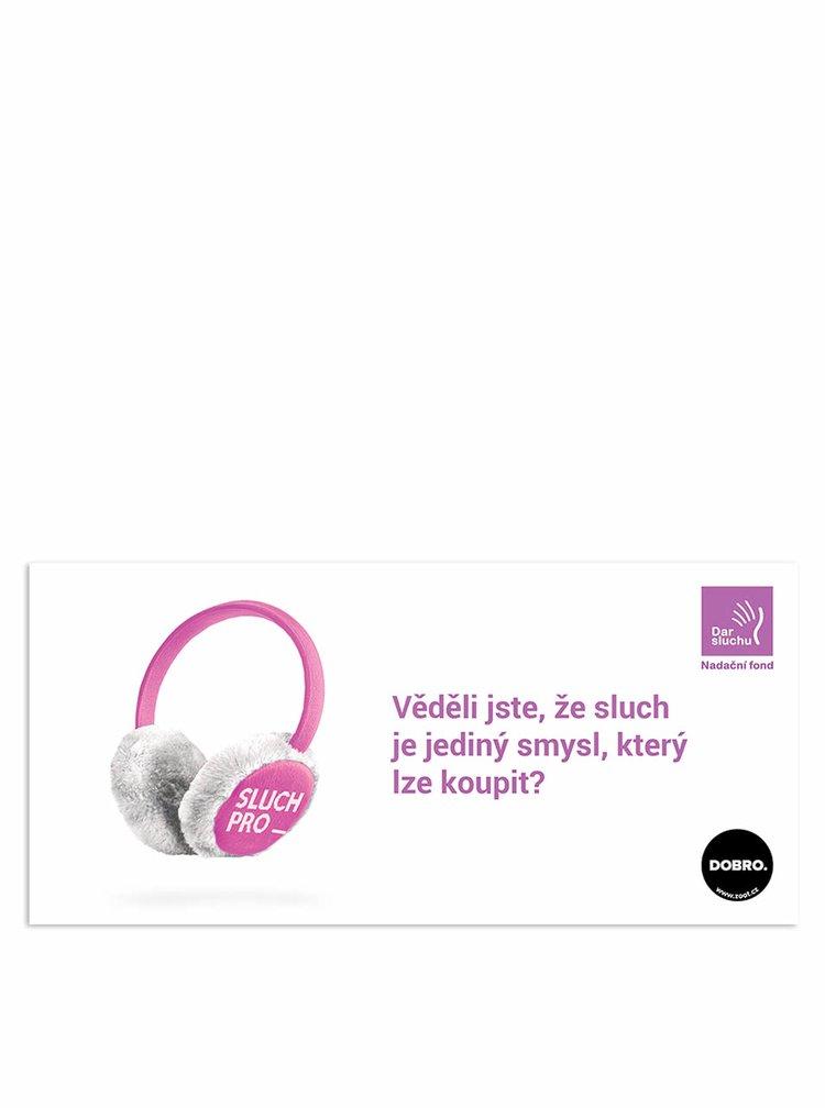 Poukázka na sluch v hodnotě 800 Kč (Dar sluchu)