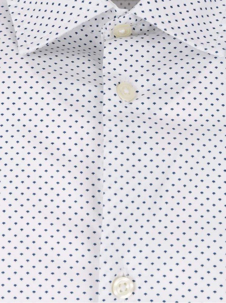 Krémová vzorovaná košile Jack & Jones Zak