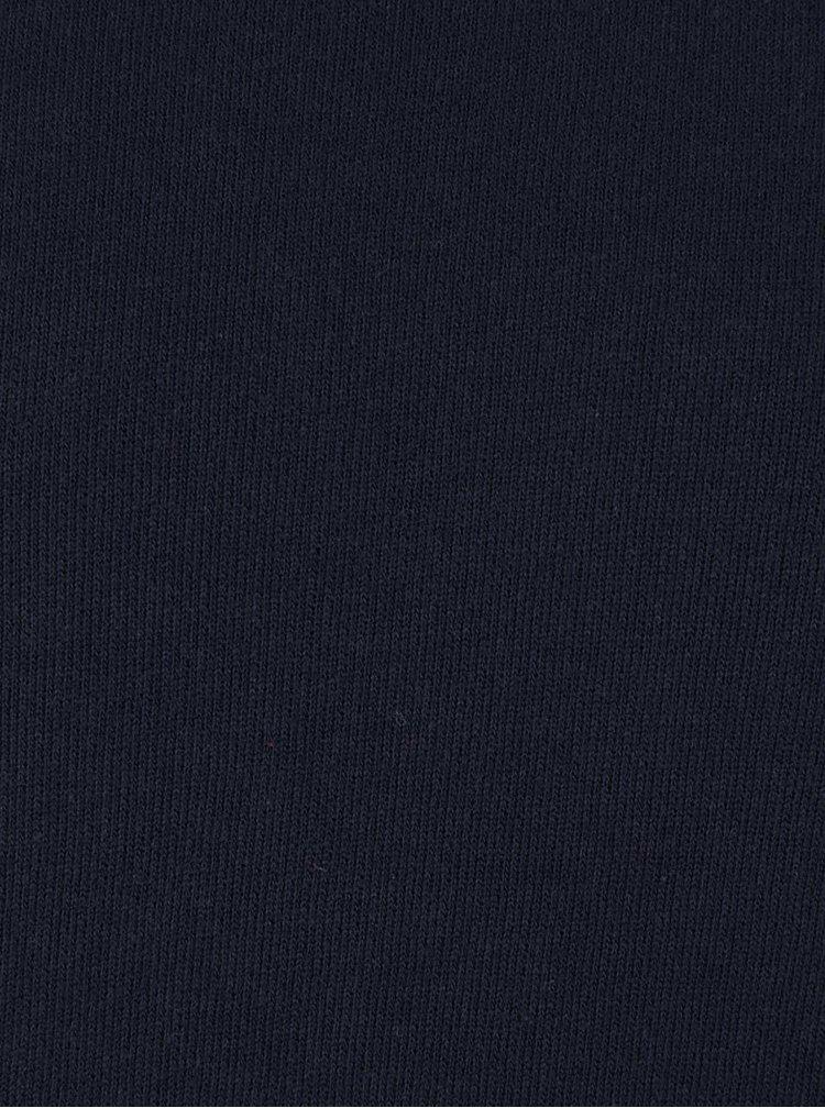 Tmavomodrá ľahká mikina Jack & Jones Rugged