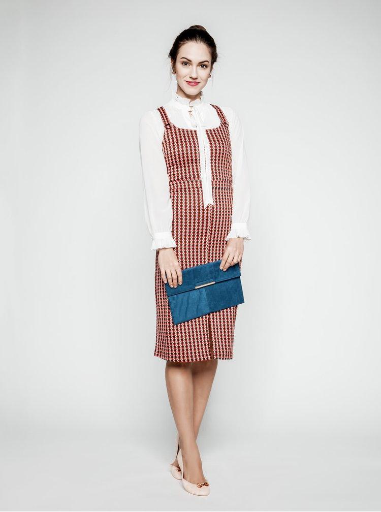 Sarafan roșu Dorothy Perkins cu model