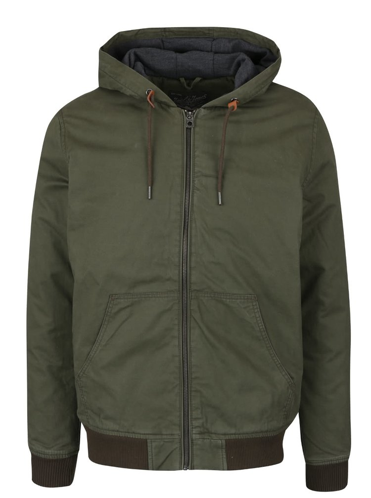 Geaca verde inchis Jack & Jones High