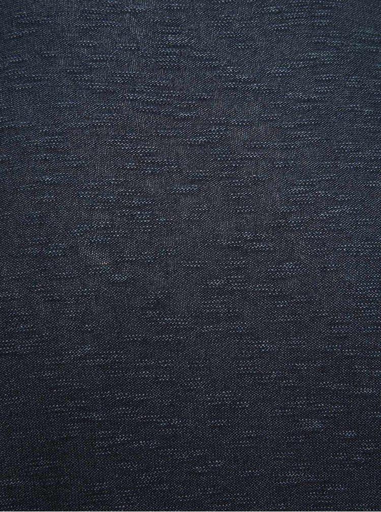 Modrý žíhaný lehký svetr Selected Homme Acid