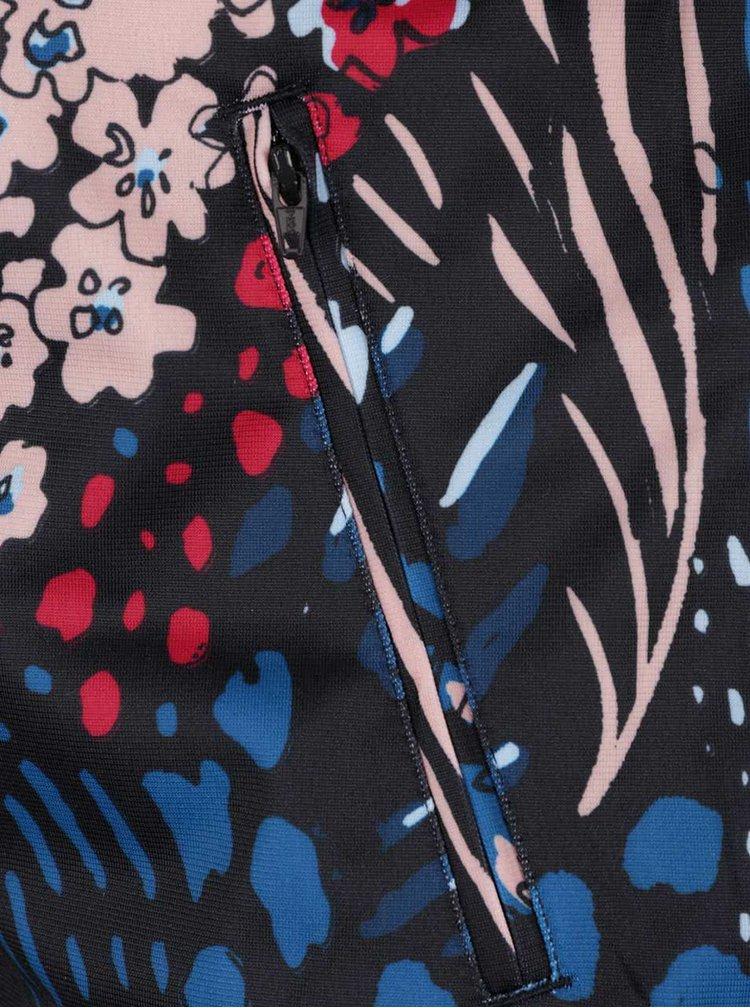 Černá dámská mikina s barevným potiskem adidas Originals Firebird