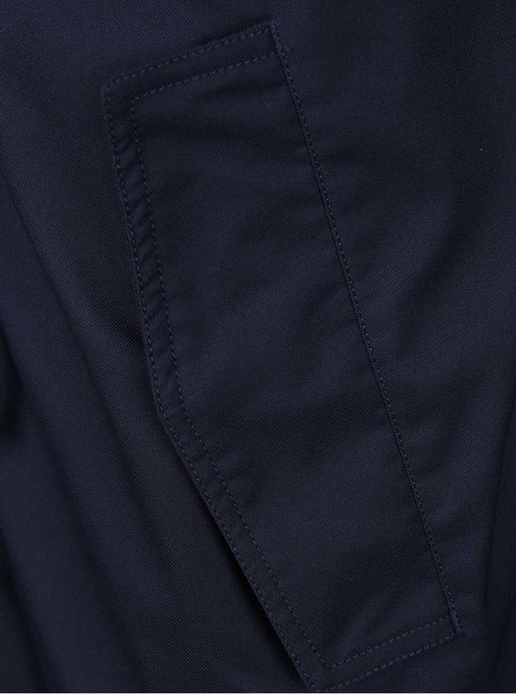 Tmavě modrá pánská parka s kapucí adidas Originals