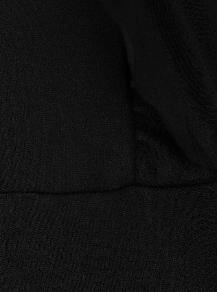 Černé šaty s volánky ONLY Boel