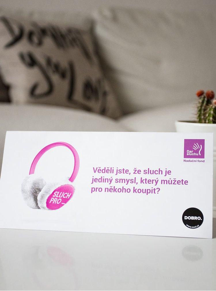 Poukázka na sluch v hodnotě 300 Kč (Dar sluchu)