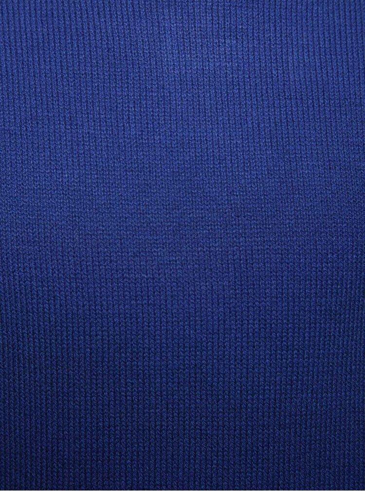 Modrý dlouhý holčičí svetr name it Jalotte