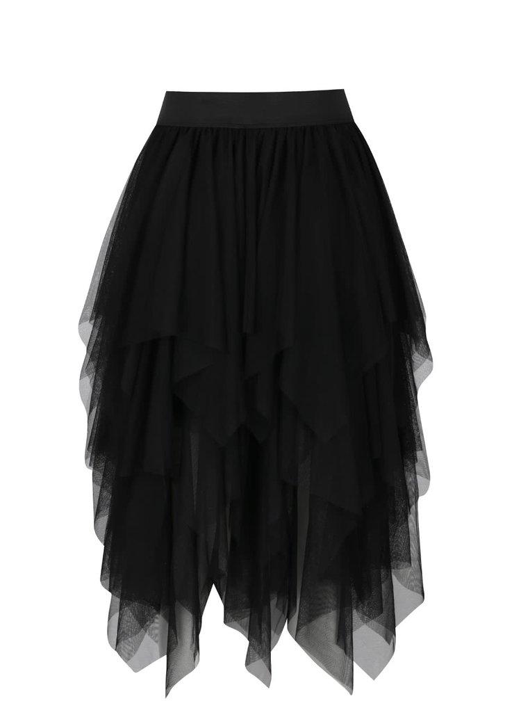 Černá tylová sukně Moda Tulle