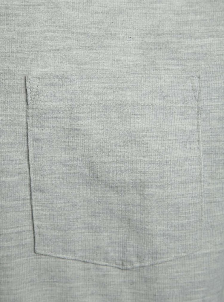 Světle šedá manšestrová košile Burton Menswear London