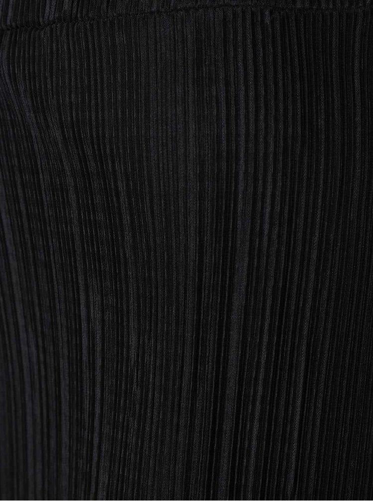 Fusta midi plisasta neagra Dorothy Perkins