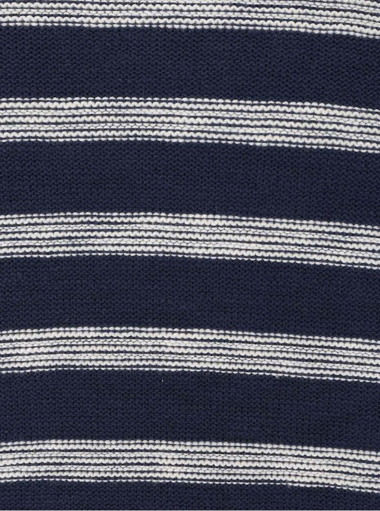 Krémovo-modrý pruhovaný sveter ONLY & SONS Aldin